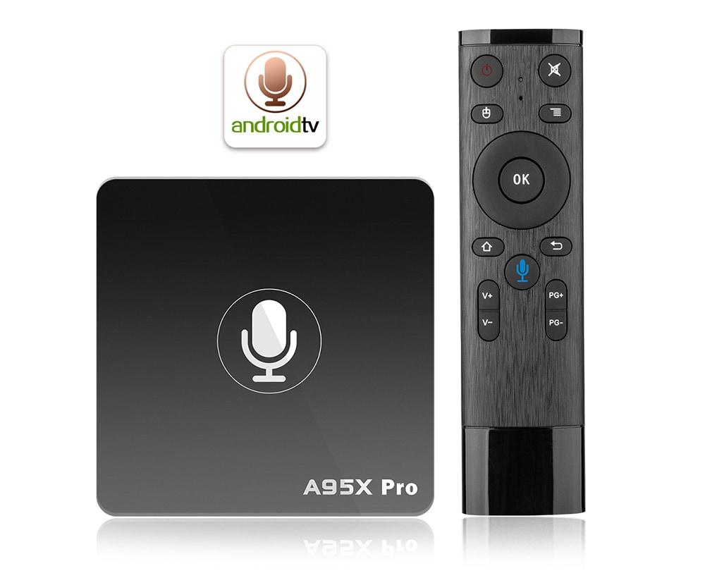 bon plan a95x pro la nouvelle box android 4k sous android tv premier prix 31 31 plan te. Black Bedroom Furniture Sets. Home Design Ideas
