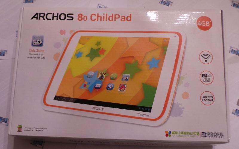 test tablette enfant Childpad