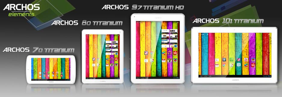 test archos  Titanium