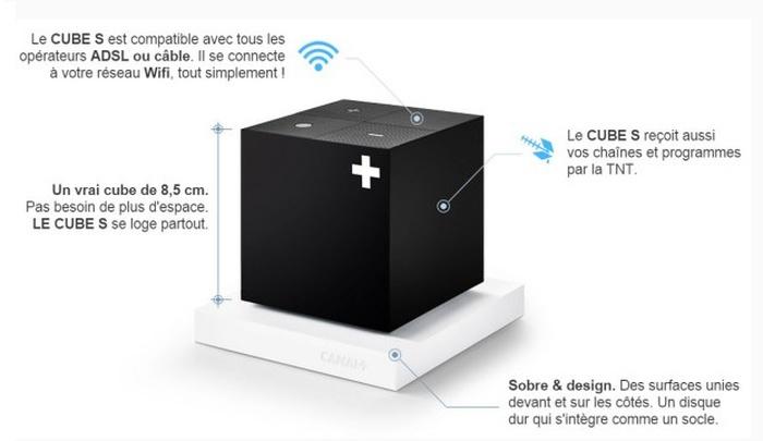 nouveau cube s canal 100 adsl plan te num rique. Black Bedroom Furniture Sets. Home Design Ideas