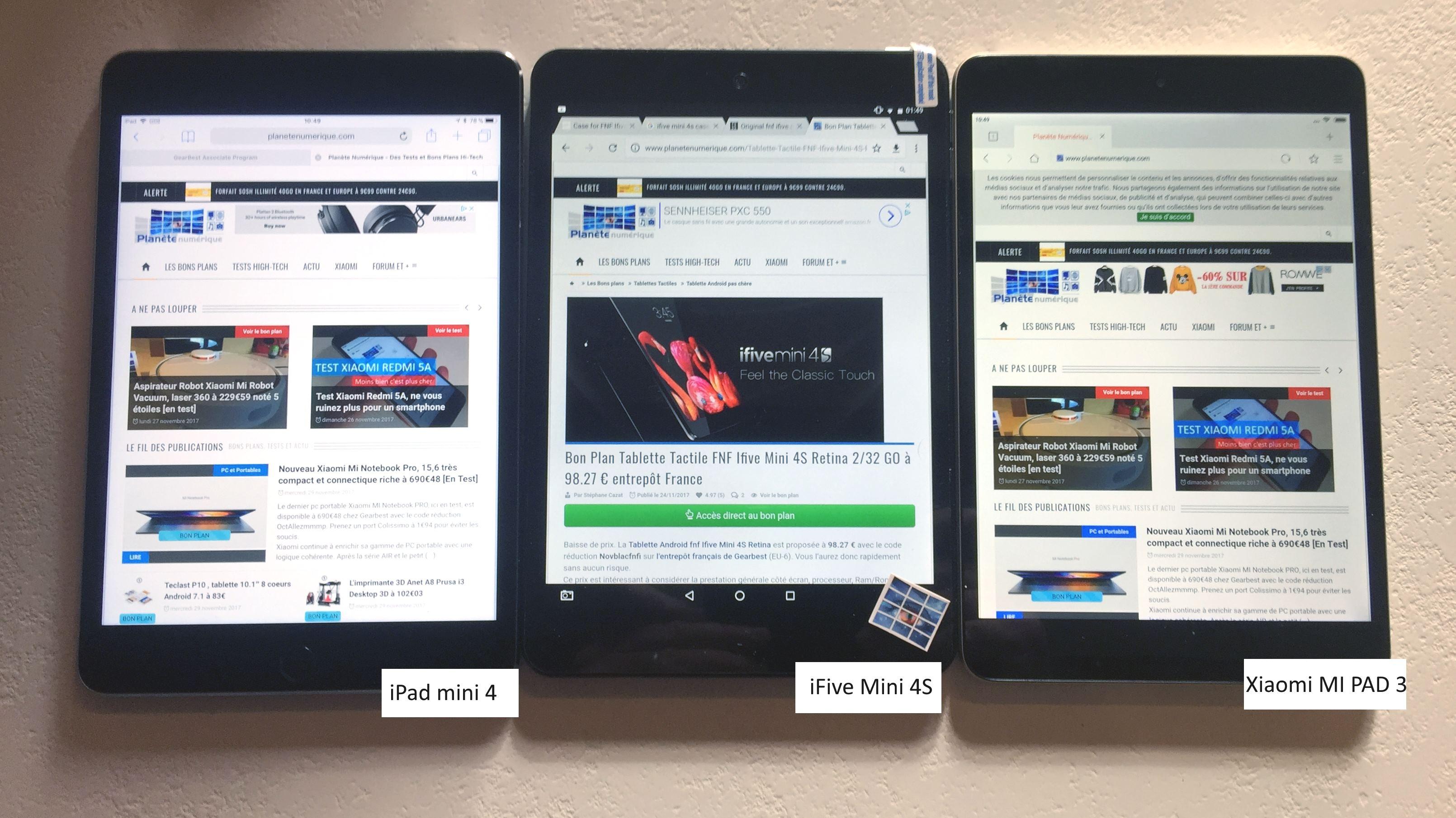 test tablette android fnf ifive mini 4s cran retina du premium premier prix plan te num rique. Black Bedroom Furniture Sets. Home Design Ideas