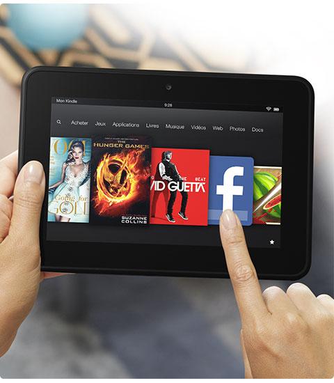 bon plan tablette android amazon kindle fire hd 16go reconditionn e 89 plan te num rique. Black Bedroom Furniture Sets. Home Design Ideas