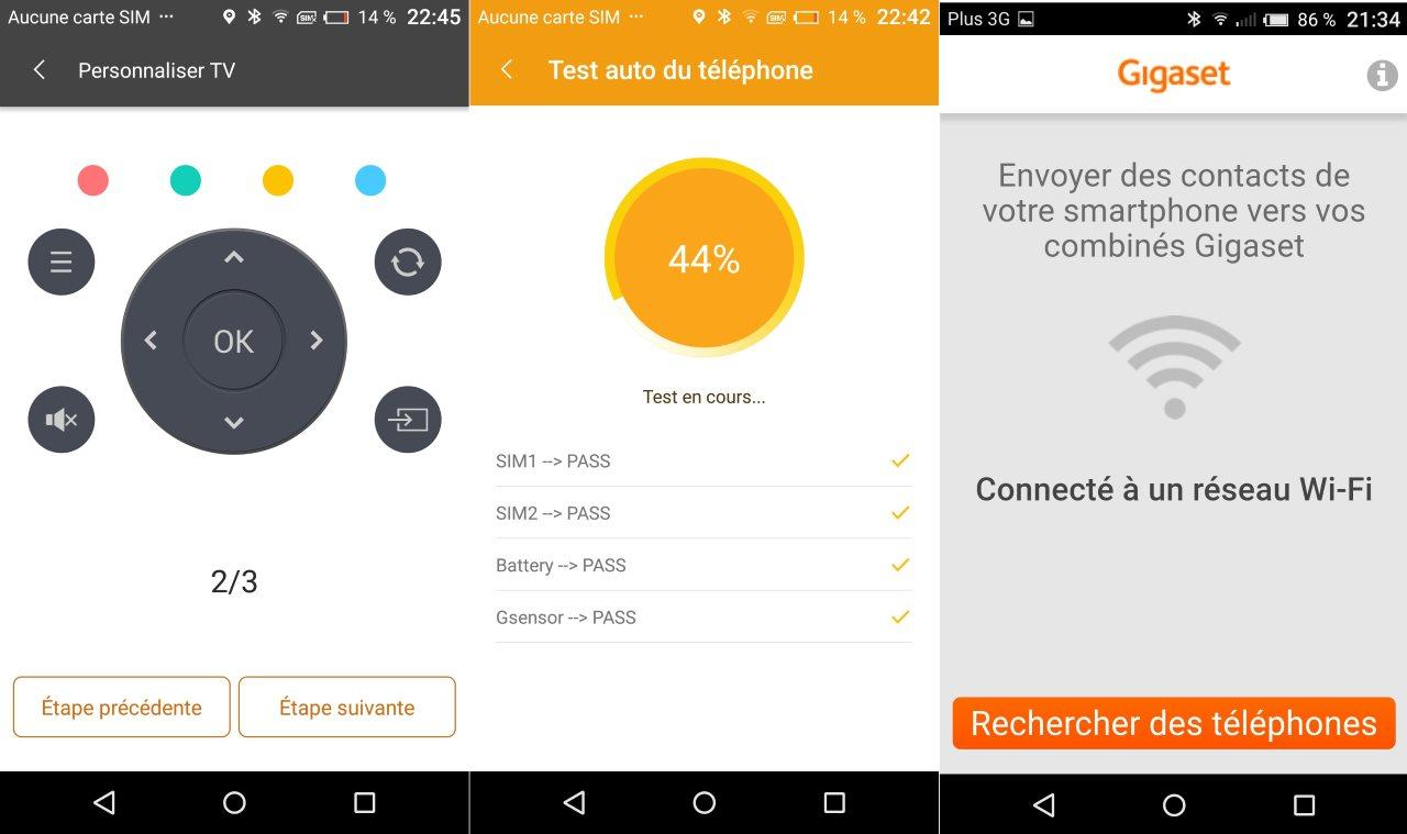 Test gigaset me gs55 6 le smartphone 4g deutsche qualitat plan te num rique for Application maison