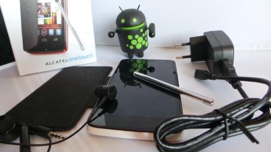 test du smartphone onetouch scribe hd par alcatel plan te num rique. Black Bedroom Furniture Sets. Home Design Ideas