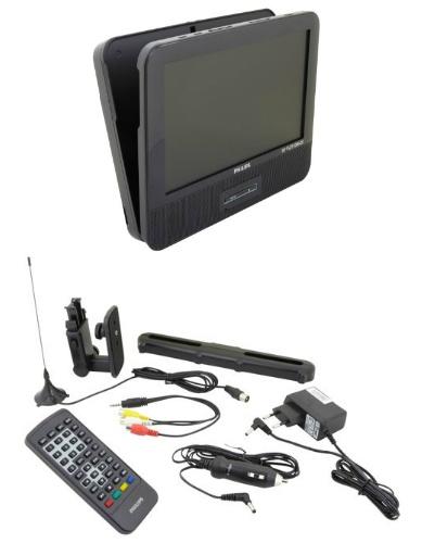 Philips Pd9003 Lecteur Dvd Portable Voiture 9 Divx Usb Et