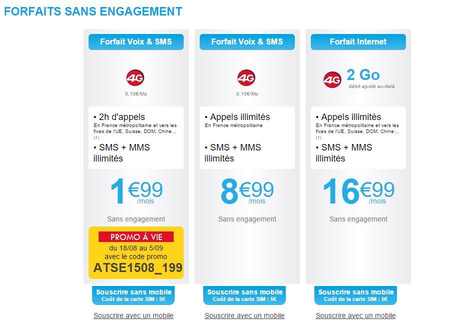 bon plan forfait mobile auchan telecom 2h mms sms illimit. Black Bedroom Furniture Sets. Home Design Ideas