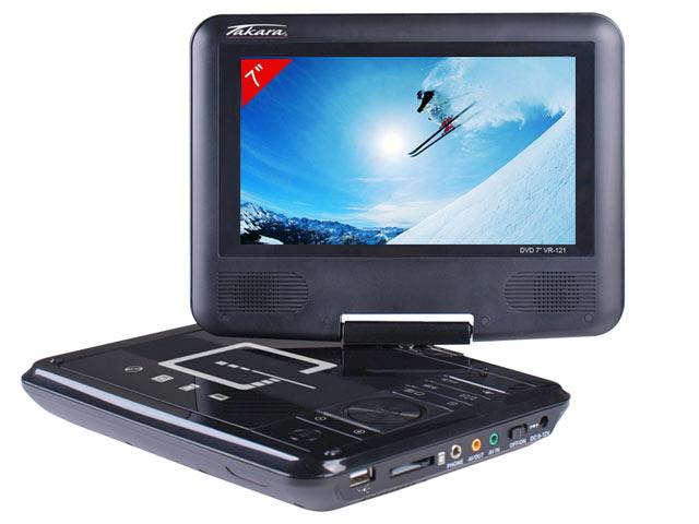 Bon plan 29 90 le lecteur dvd usb divx portable 7 takara - Lecteur cd pour voiture avec port usb ...