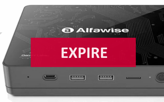 Alfawise T1 Mini PC, Gemini Lake, 4GO/64GO extensible (...)