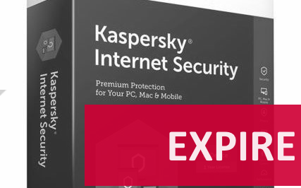 Kaspersky Internet Security 2018 à 4€35