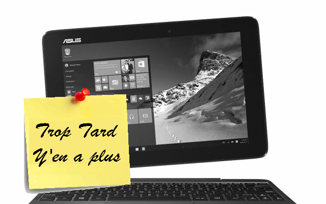 PC Tablette ASUS Transformer Book T100HA-FU006T Tactile (...)