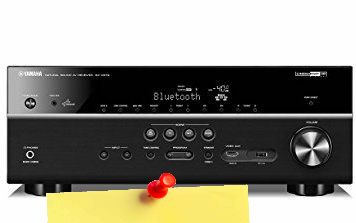 Yamaha RX-V679BL Amplificateur Audio 7.2 HDMI/Bluetooth/Wi-F