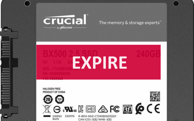 SSD Crucial BX500 240Go (3DNAND) à 28€82 @ Amazon