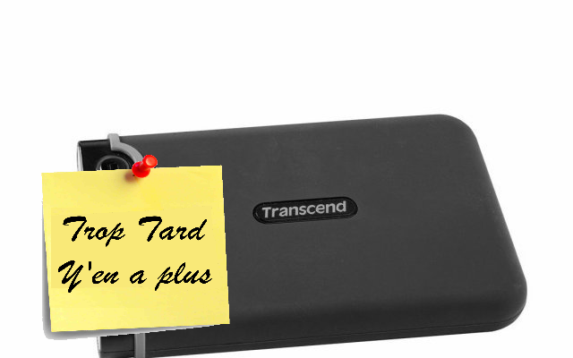 Transcend Disque dur Externe Antichoc 2To USB 3.0 59€89 (...)