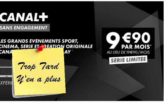 Canal Plus abonnement digital via My Canal Compatible (...)