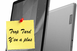 "Deal expiré Tablette Android Lenovo Tab M10 Plus , 10.3"", Full HD, (...)"