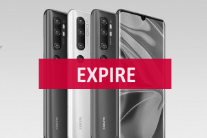 Deal expiré Xiaomi Mi Note 10 Global stock France meilleur prix (...)