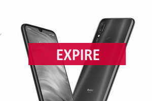Deal expiré Smartphone Redmi Note 7 GLOBAL, Snapdragon 660, caméra (...)