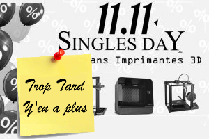 Deal expiré Imprimantes 3D, le top bon plan Black Friday Chinois (...)