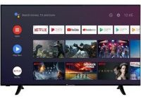 "Deal TV CONTINENTAL EDISON 55"" Android TV LED 4K à (...)"