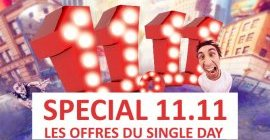 Evenement SINGLES DAY 11.11