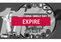 Deal expiré Single Day 11.11, le Black Friday Chinois, Il continue (...)