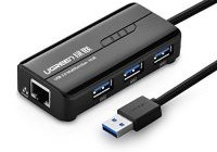 Deal Hub USB 3 ports Réseau Ethernet Gigabit UGREEN 13€53 (...)