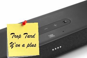 Deal expiré La barre audio JBL LINK BAR AndroidTV à 199€99@ (...)