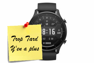 Deal expiré La montre SmartWatch Xiaomi AMOLED GPS 10 sports à (...)