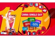 Bon plan relatif Single Day 11.11, le Black Friday Chinois, Il continue (...)
