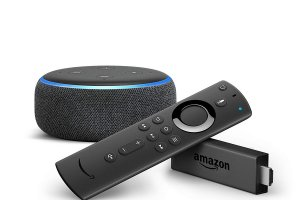 FIRE TV STICK HD compatible Alexa Netflix MyCanal à (...)