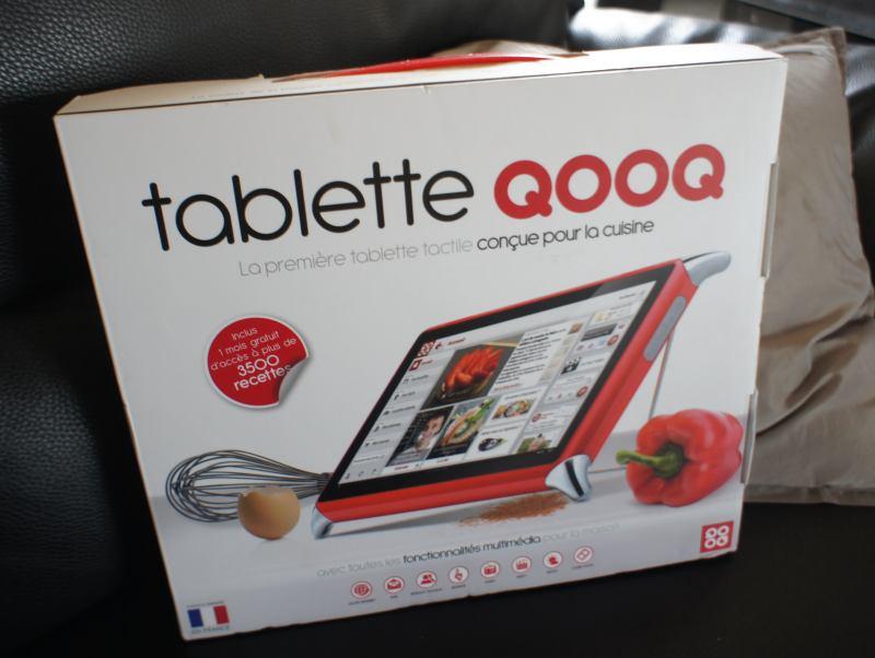 La Tablette Tactile Pour Cuisine Qooq En Test Cook Orico